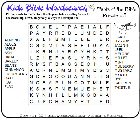 printable christian word search for kids home picture car pictures Car ...